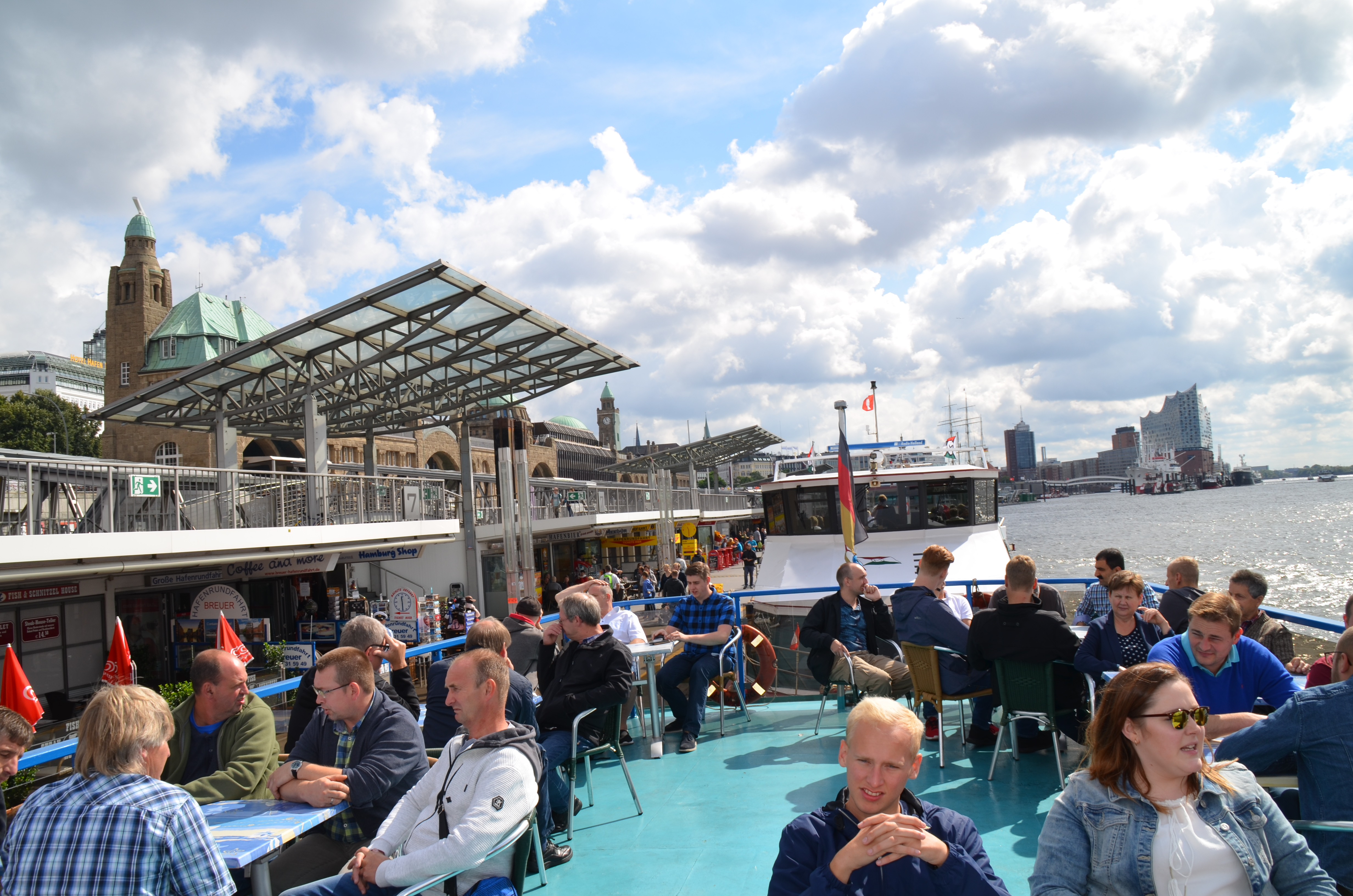 Company excursion to Hamburg
