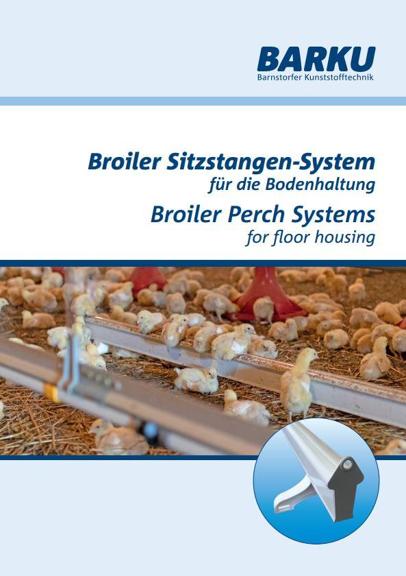 Barku Broiler Sitzstangen-System